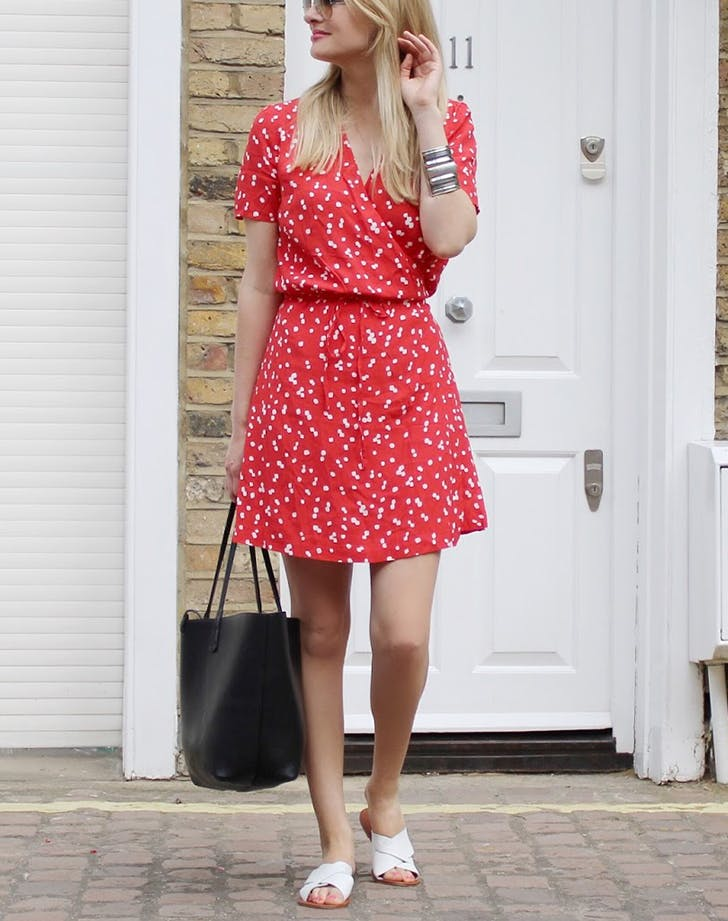 haljina1 #FashionInspo: Kako da nosiš haljinu na preklop