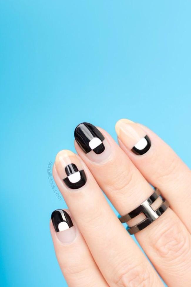 manikir 1 Minimalističke ideje za manikir koji bi nosila i Lejdi Gaga