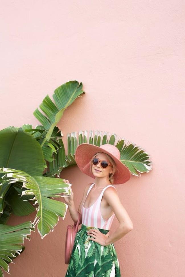 roze i zelena Kombinacije boja koje ovog leta stižu kao pravo, stylish osveženje