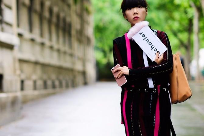 street style 1 Šik street style kombinacije koje su okružile revije u Parizu