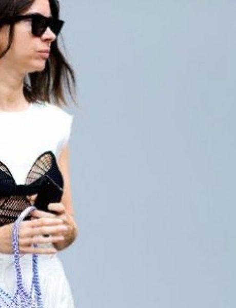 """Šik street style kombinacije koje su """"okružile"""" revije u Parizu"""