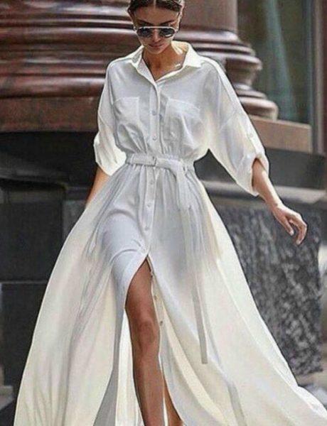 7 novih načina da stilizuješ belu haljinu od danas pa do kraja leta