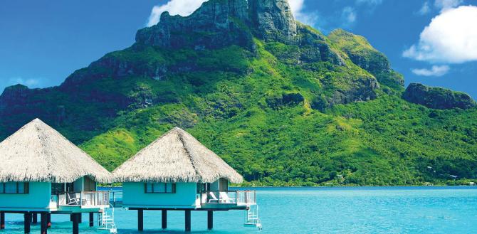 Bora Bora #TravelInspo: Izolovana mesta u svetu od kojih zastaje dah