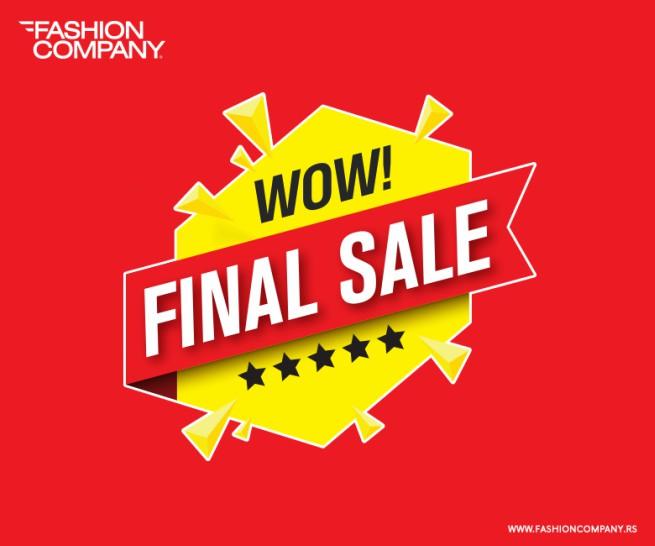 FACEBOOK Finalno sniženje u Fashion Company radnjama!