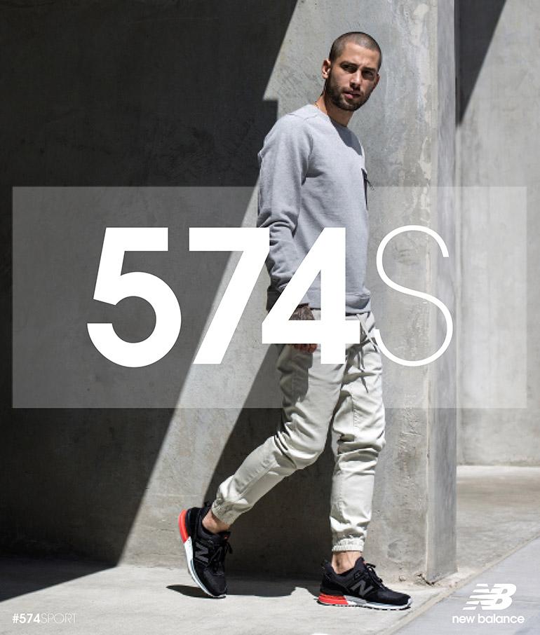 NB 574S Lifestyle Q317 KeyVisuals Tier1 Black 8.5x10 Kada patike dožive makeover: Ovaj model će zameniti sve tvoje neudobne cipele!