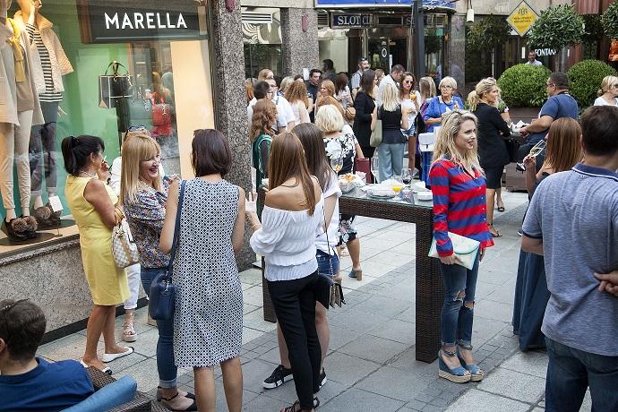 Otvaranje Marella prodavnice Glamurozni italijanski brend MARELLA stigao u Beograd
