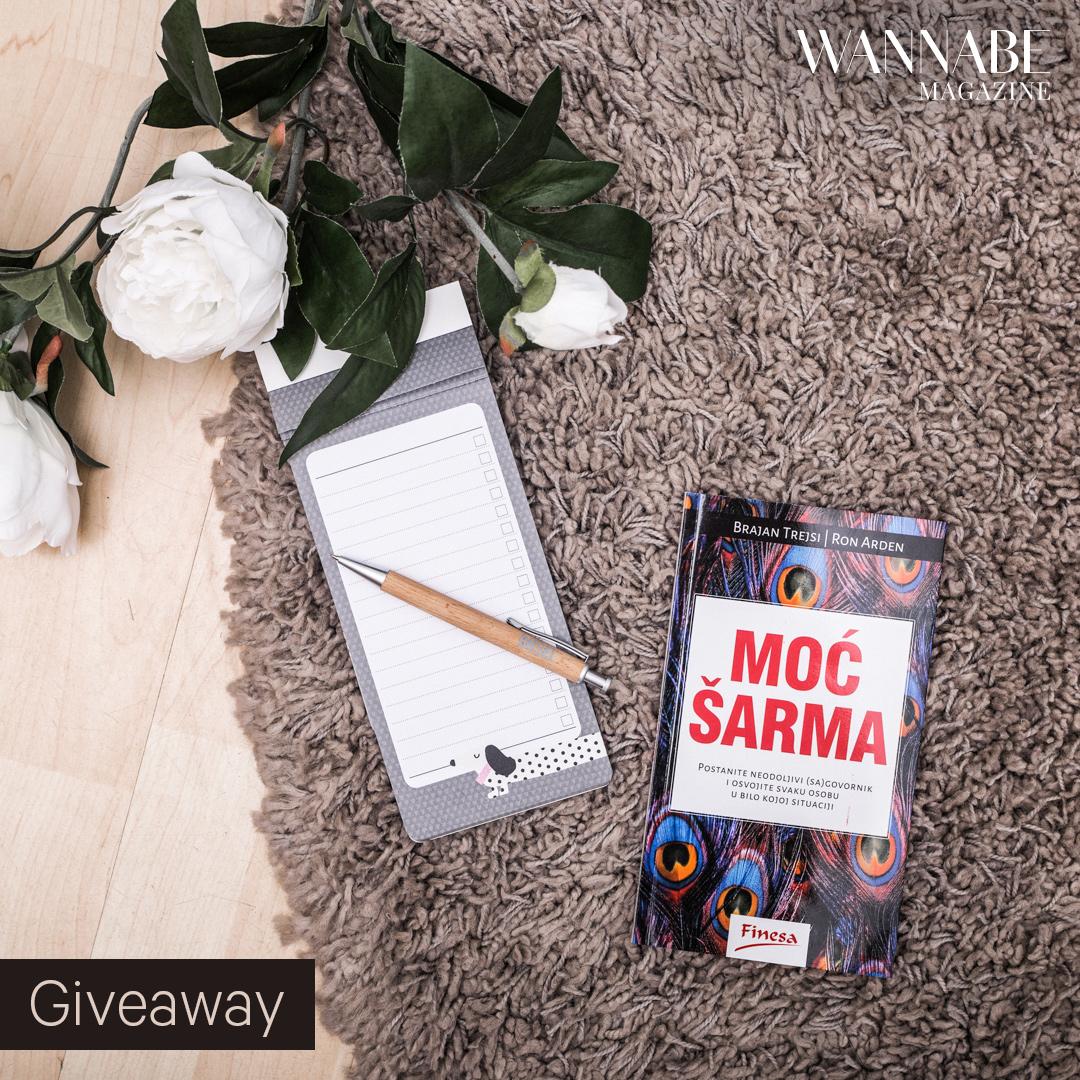 Wannabe Giveaway 2017 06 15 2 1 Instagram giveaway: Osvoji priručnik uz koji ćeš naučiti da je tvoj šarm tvoje oružje