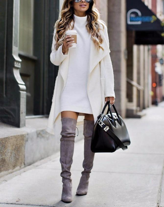 duboke cizme 2 #BeFashionable: Kako da kao odrasla devojka nosiš čizme iznad kolena