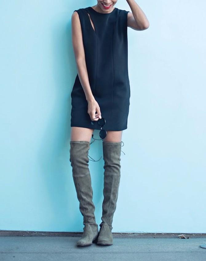 duboke cizme 3 #BeFashionable: Kako da kao odrasla devojka nosiš čizme iznad kolena