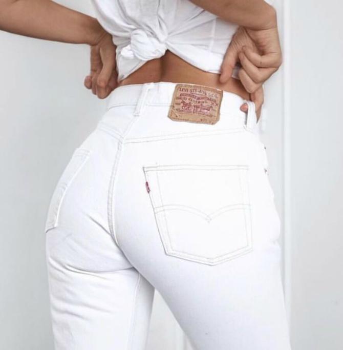 dzins 2 1 Kako da nosiš bele farmerke na pravi način?