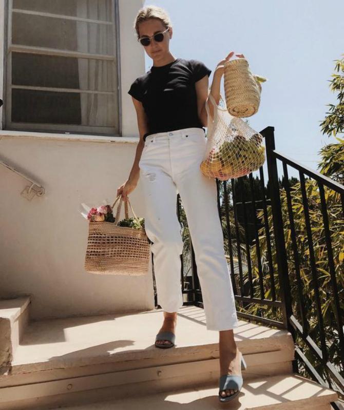 dzins 6 Kako da nosiš bele farmerke na pravi način?