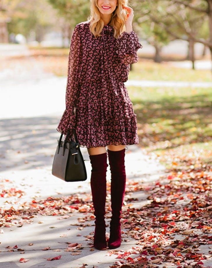haljina 1 Jesenje kombinacije koje možeš da nosiš ako još uvek nisi spremna za pantalone