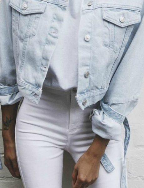 Kako da nosiš bele farmerke na pravi način?
