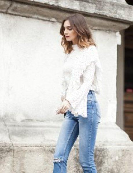 #FashionInspo: Kako da nosiš farmerke sa visokim strukom?