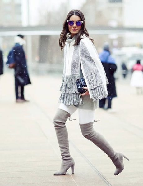 #BeFashionable: Kako da kao odrasla devojka nosiš čizme iznad kolena