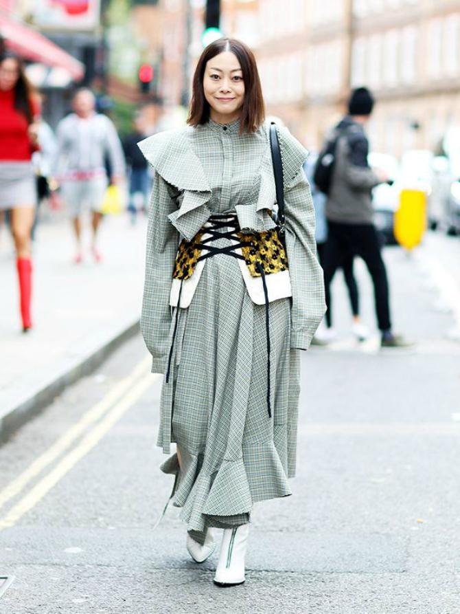 6 5 Najbolji street style autfiti sa Nedelje mode u Londonu koji diktiraju modne trendove
