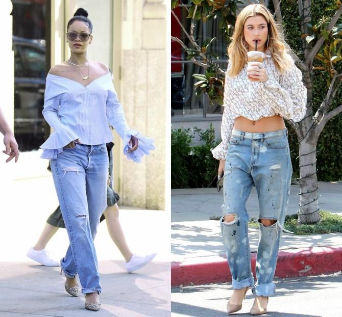 Kako da nosiš boyfriend džins kao poznate lepotice 1 Kako da nosiš boyfriend džins kao poznate lepotice