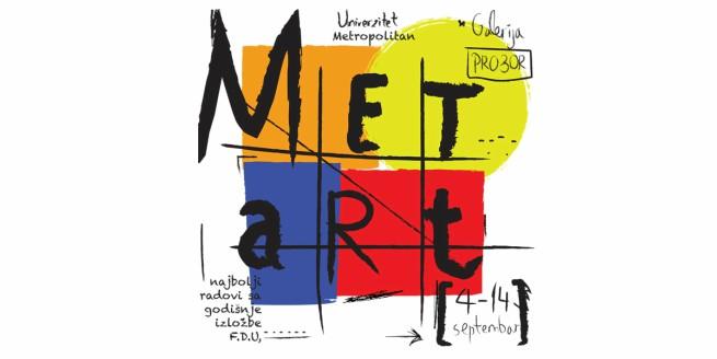 MetArt Izlozba galerija Pro3or Najbolji radovi studenata Fakulteta digitalnih umetnosti Univerziteta Metropolitan u galeriji Pro3or