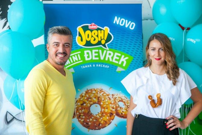 Nemanja Brkovic i Marina Vlaski Bambi Stigla Josh Mini Đevrek zaokružena grickalica!