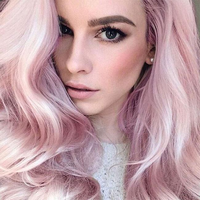 Roze kvarc je hit boja za kosu ove sezone Roze kvarc je hit boja za kosu ove sezone!