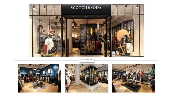 SCOTCHSODA Fashion Company otvorio 6 novih radnji u srcu Beograda