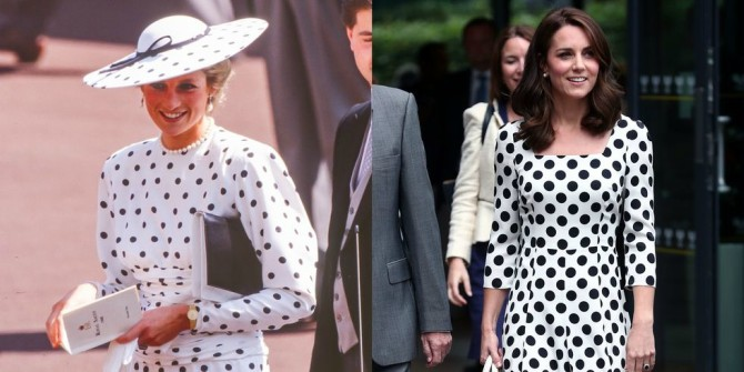 Svaki put kada je Kejt Midlton iskopirala princezu Dajanu 1 Svaki put kada je Kejt Midlton iskopirala princezu Dajanu