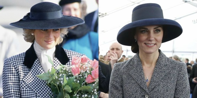 Svaki put kada je Kejt Midlton iskopirala princezu Dajanu 2 Svaki put kada je Kejt Midlton iskopirala princezu Dajanu