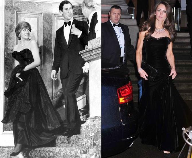 Svaki put kada je Kejt Midlton iskopirala princezu Dajanu 6 Svaki put kada je Kejt Midlton iskopirala princezu Dajanu