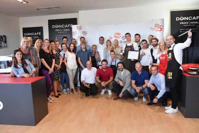 Učesnici takmičenja Strauss Coffee Međunarodno takmičenje barista: Titulu najboljeg bariste odneo je Kristof Pičeta iz Poljske