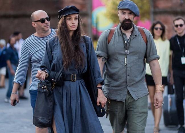 beretka street style 2 Beretke su ponovo u modi i pronašle smo autfite uz koje možeš da ih nosiš