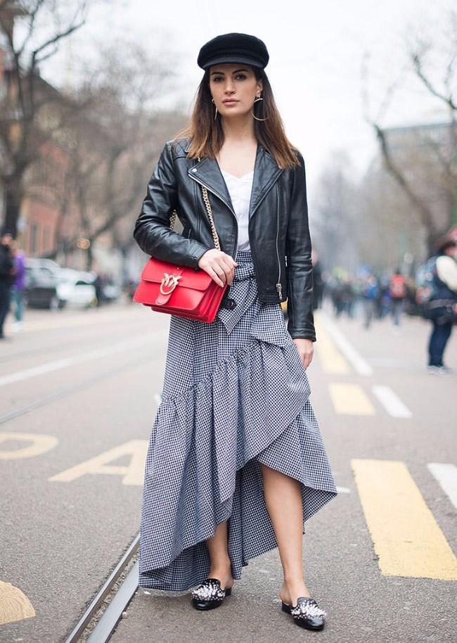 beretka street style Beretke su ponovo u modi i pronašle smo autfite uz koje možeš da ih nosiš