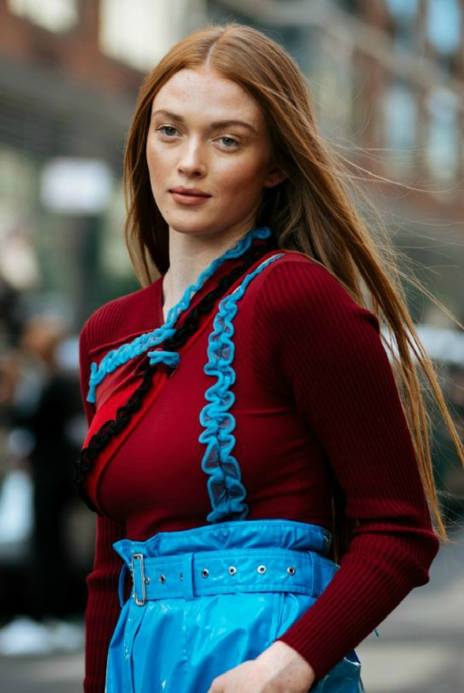 kajsija 2 Tri hit boje karmina predstavljene na Nedelji mode u Njujorku