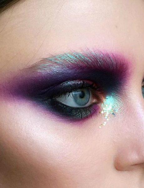 Jesi li spremna da prihvatiš novi trend šminkanja obrva metalik bojama?