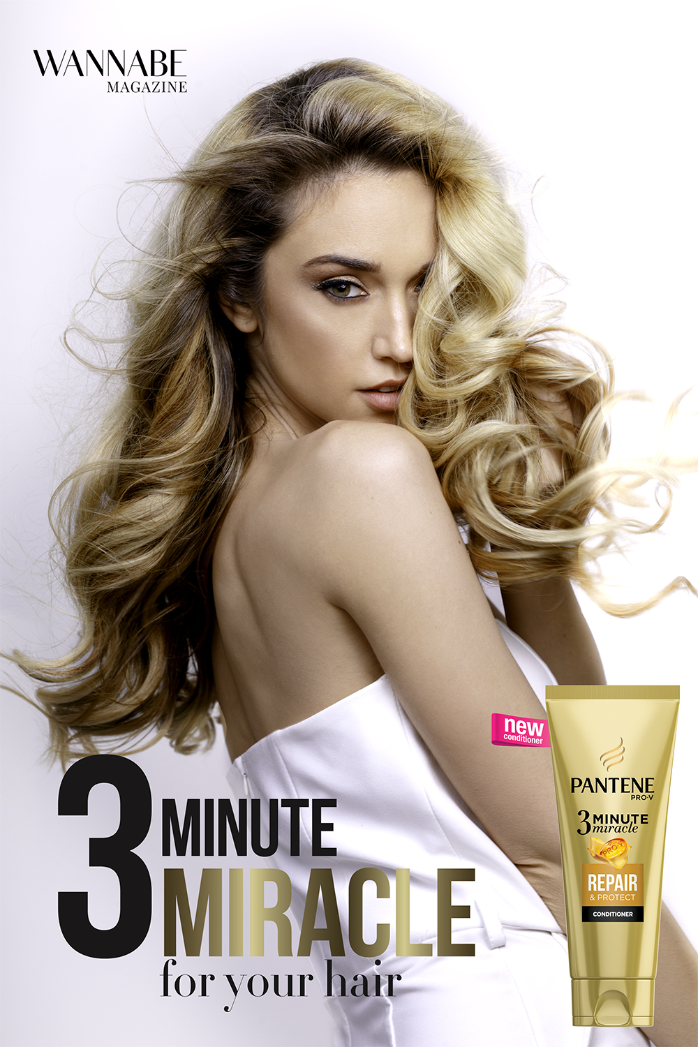 1 19 Wannabe editorijal: 3 Minute Miracle For Your Hair