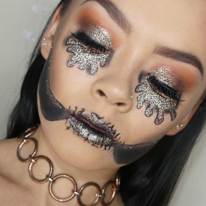 8 8 Makeup ideje za Noć veštica