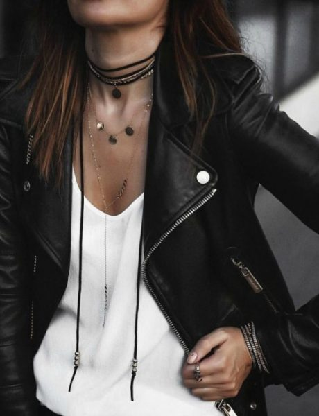 8 načina da nosiš kožnu jaknu kao Njujorčanka