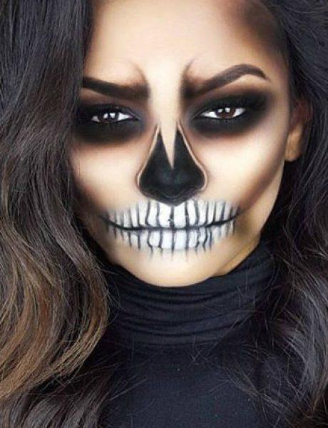 9 Halloween makeup tutorijala koji su tako laki, a tako kul