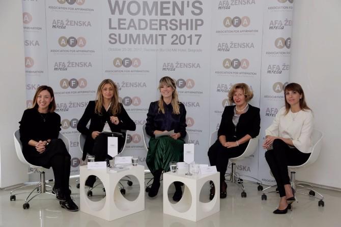 AFA Asocijacija Samit ženskog liderstva Prvi Samit ženskog liderstva na temu Digitalizacija i tehnološke inovacije kao šansa za brži razvoj društva i aktivniju ulogu žena