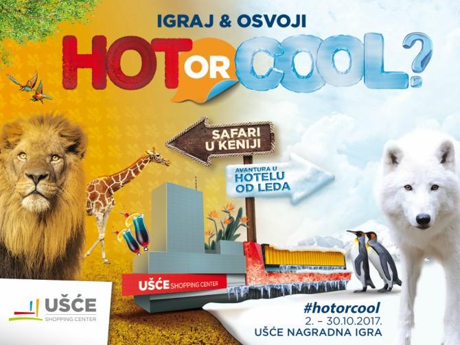 HOTiliCOOL Hot ili Cool – vreme je za Ušće nagradnu igru