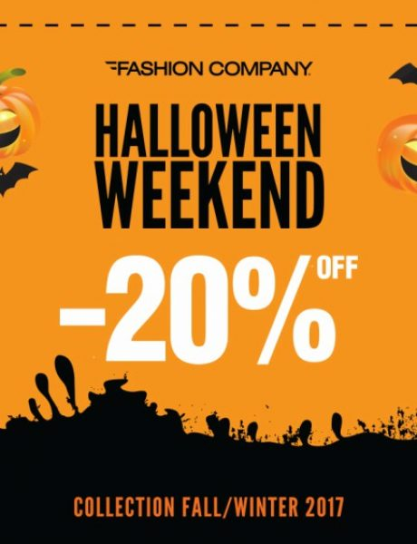 Halloween Weekend -20% u Fashion Company prodavnicama