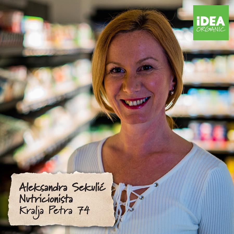 IDEA Organic 2 za medije Živi zdravo: Beograd dobija tri IDEA Organic prodavnice!