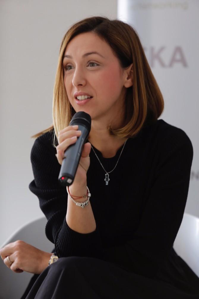 Maja Vujašković Đureinović IKEA Prvi Samit ženskog liderstva na temu Digitalizacija i tehnološke inovacije kao šansa za brži razvoj društva i aktivniju ulogu žena
