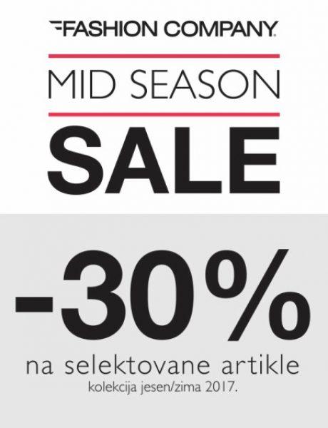 Mid Season Sale u Fashion Company prodavnicama!