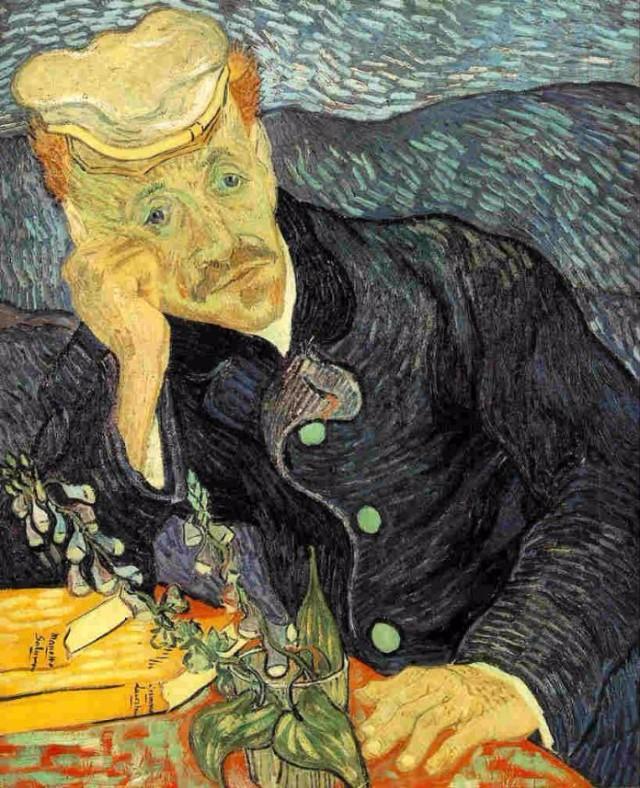 Portret doktora Gašea 10 najskupljih dela Van Goga