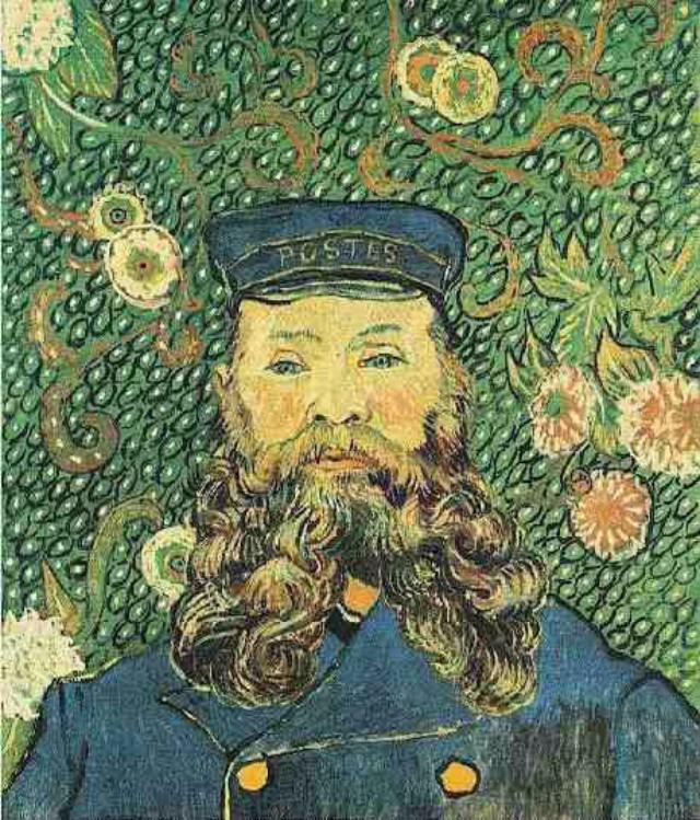 Portret poštara Džozefa Rulena 1 10 najskupljih dela Van Goga
