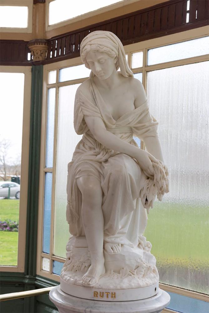 Ruth1 Kako bi poznate statue iz 19. veka izgledale da su u boji?