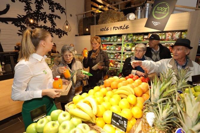 VLAD0443 Ljubitelji zdrave ishrane obradovani novim IDEA Organic prodavnicama