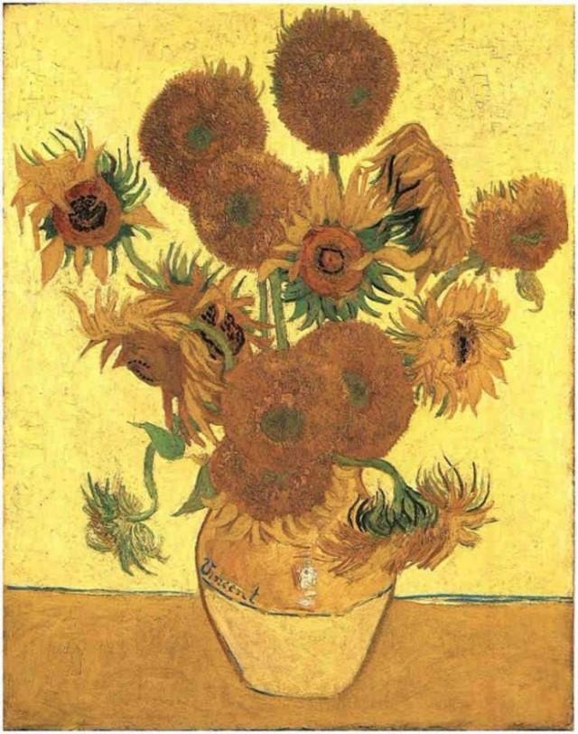 Vaza sa 15 suncokreta 10 najskupljih dela Van Goga