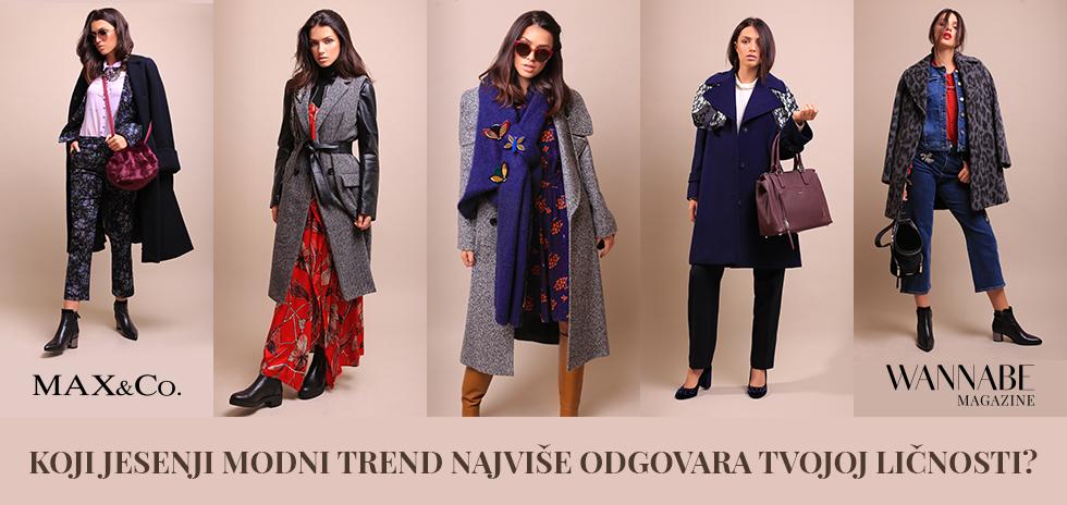 Koji jesenji modni trend najviše odgovara tvojoj ličnosti?
