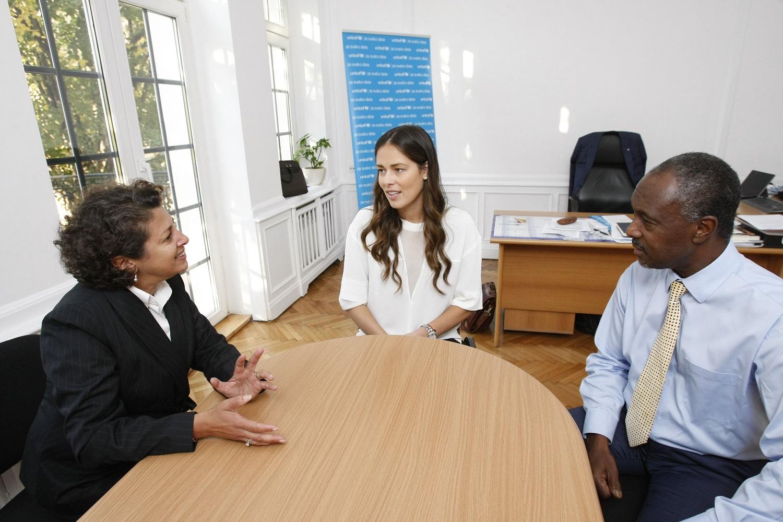 ana ivanovic afsan kan i michel saint lot Ana Ivanović: Borim se za obrazovanje, prevenciju nasilja i osnaživanje devojčica